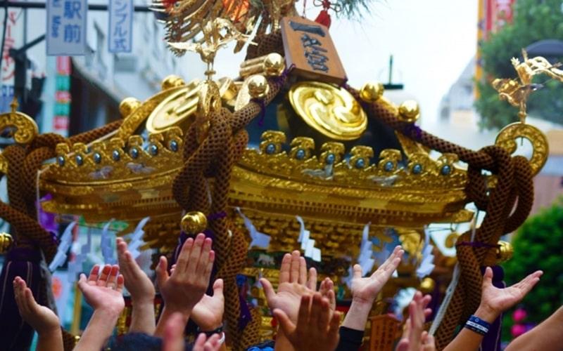 目黒大鳥神社例大祭2019神輿の時間や屋台の出店など開催情報!