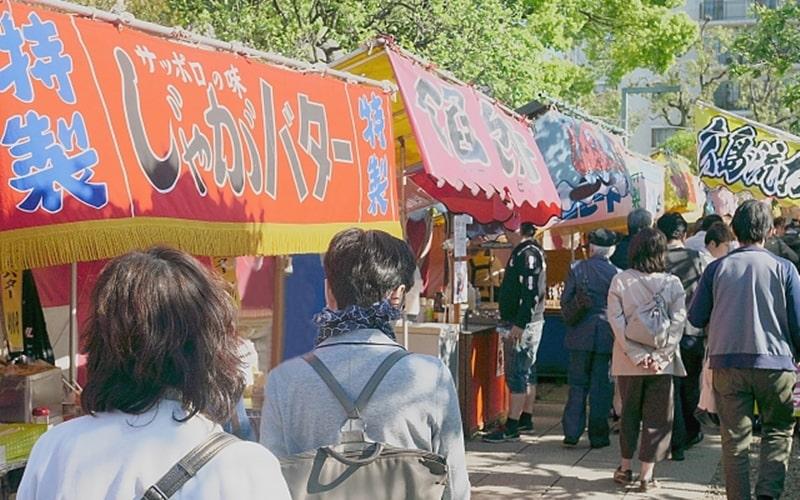 篠路神社祭り日程や屋台出店・駐車場情報