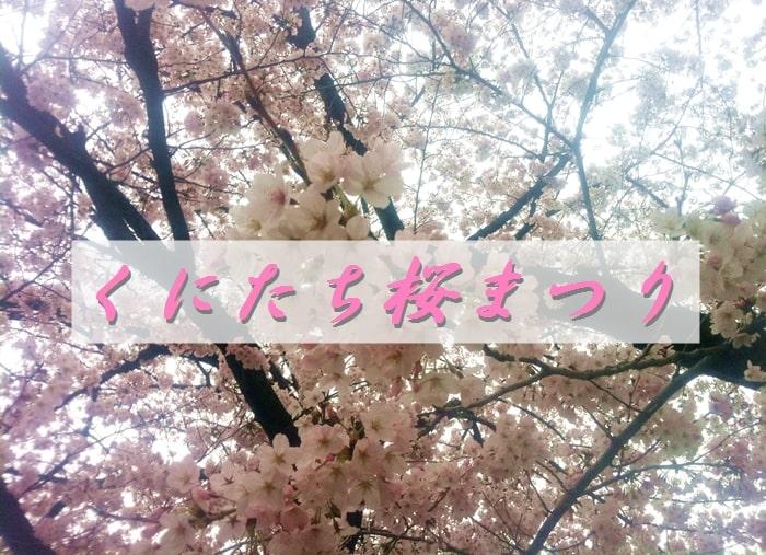 くにたち桜まつりで見た桜