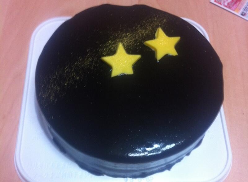 セブンイレブンクリスマスケーキ口コミ(チョコレートケーキ)